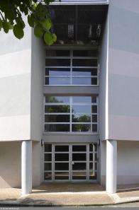 Résidence étudiante Le Portail - extérieur - accès hall 2
