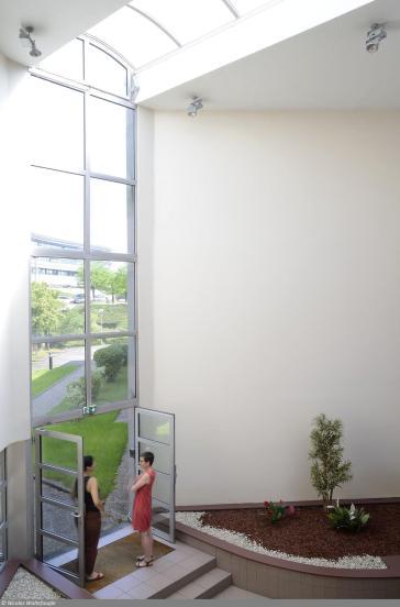 Résidence étudiante Le Portail - hall accès extérieur