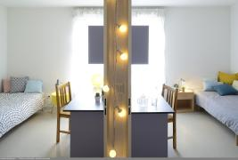 Résidence étudiante Le Portail - Chambres logement double