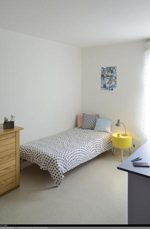 Résidence étudiante Le Portail - Chambre logement double
